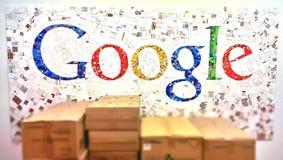 Google-embleem Royalty-vrije Stock Fotografie
