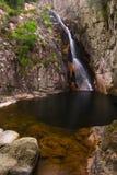 Gorg Negre (black pool) of Gualba. Montseny, Spain. Stock Photography