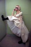 Gothic bride Royalty Free Stock Photo