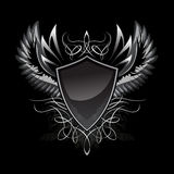 Gothic Shield Insignia Royalty Free Stock Images