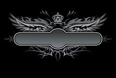 Gothic Vector Insignia Royalty Free Stock Images