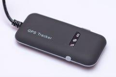 GPS- und GPRS-modul Verfolger für Auto und Fahrrad Stockfotografie