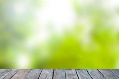 Grüner abstrakter Unschärfenaturhintergrund Lizenzfreies Stockfoto
