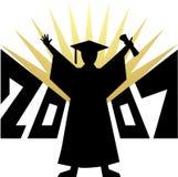 Graduation 2007/eps Stock Photo