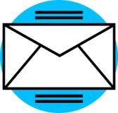 Grafische e-mail Royalty-vrije Stock Fotografie