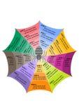 Graphique d'infos d'araignée Image libre de droits