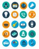 Graphismes d'affaires et de finances Photo libre de droits