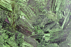 Grass-green superior natural stone material with wonderful patterns Stock Photo