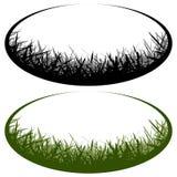 Grass vector logo Stock Image