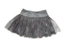 Gray skirt for  girl Stock Photography