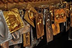 Greece orthodox religion plates Stock Photo