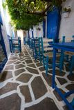 Greek Alley Royalty Free Stock Images