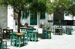Greek taverna Royalty Free Stock Image
