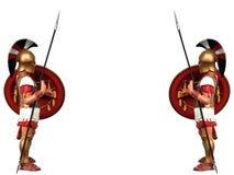 Greek warrior Stock Photos