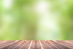 Green abstract blur nature background Stock Images