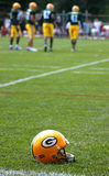 Green Bay Packers Helmet Royalty Free Stock Photography