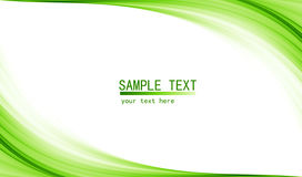 Green high tech abstract background Stock Images