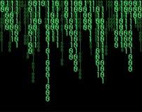 Matrix code Royalty Free Stock Images