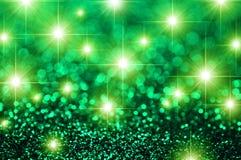 Green Stars Royalty Free Stock Photography