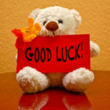 Greeting Card: Good Luck! Stock Photography