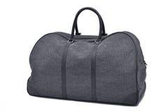 Grey travel bag Royalty Free Stock Photo
