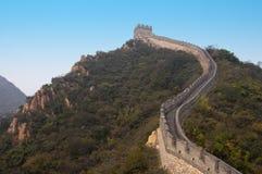 Grote Muur van China, de Plaats van de Reis dichtbij Peking Royalty-vrije Stock Afbeelding
