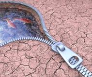 Ground Water Stock Photo