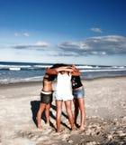 Group Hug Stock Image