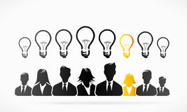 Group ideas Royalty Free Stock Images
