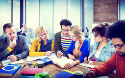 Group Learning University Communication Concepts Royalty Free Stock Photography