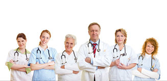 Group of medical care people Stock Photography
