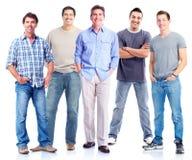 Group of men. Stock Photo