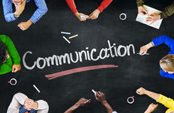 Group of People with Communication Concepts Royalty Free Stock Photos