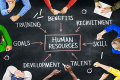 Group of People and Human Resources Concepts Royalty Free Stock Image
