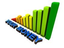 Grow your money Stock Photo
