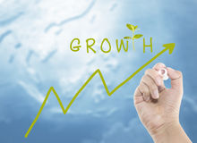 Growth of your money Stock Images