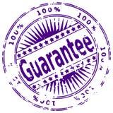 Grunge ink stamp GUARANTEE Stock Photo