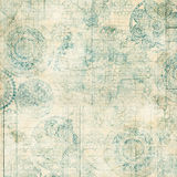 Grungy Lace Doiley Background Design Stock Images