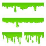 Grupo verde novo do limo Fotos de Stock