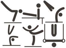 Gymnastics Artistic icon Stock Image