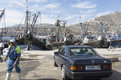 Hafen in Agadir Lizenzfreies Stockfoto