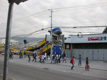 Haiti after the earthquake Stock Image
