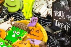 Halloween treats Stock Photo