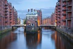 Hamburgo, Alemania. Fotos de archivo