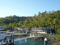 Hamilton Island Marina Tropical Paradise Australia Fotografia Stock Libera da Diritti