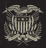 Hand Drawn American Eagle Stock Images