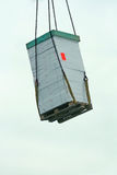 Hanging cargo transport Royalty Free Stock Images