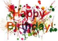 Happy Birthday! Stock Photos