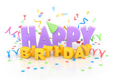 Happy Birthday. Royalty Free Stock Photos