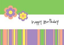 Happy Birthday! - Greeting Card Stock Photography